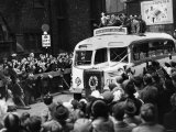 Wigan Return Home with the Rugby League Cup Reproduction photographique