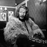 Pop's Best Drummer Ginger Baker, Former Member of the Pop Group Cream, January 1970 Photographic Print