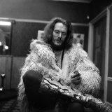 Pop's Best Drummer Ginger Baker, Former Member of the Pop Group Cream, January 1970 Fotografisk tryk