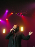 Once in a Lifetime Rewind Tour at Metro Radio Arena 11 April 2007 - the Osmonds - Jimmy Osmond Photographic Print