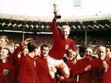 VM i fodbold, finalen i 1966 på Wembley Stadium Fotografisk tryk