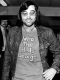 George Best Footballer Leaves Heathrow Airport For Los Angeles to Play For American Team Aztecs Photographic Print