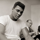 Cassius Clay Later to Become Muhammad Ali, August 1966 in Training Fotoprint