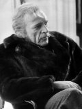 "Richard Burton Actor on the Set of the Film ""Wagner"" in February 1982 Fotografisk trykk"
