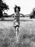 Kate O'Mara Actress on Wimbledon Common Photographic Print