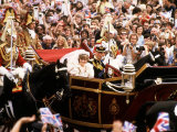 Royal Wedding of Prince Charles and Lady Diana Spencer July 1981 Photographic Print