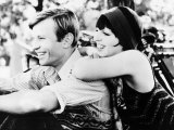 """Liza Minnelli with Actor Michael York in the Film """"Cabaret"""", May 1972 Fotografisk trykk"""