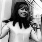 Nanette Newman Actress in a Mink Fringed Cagoule Photographic Print