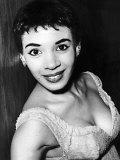 Singer Shirley Bassey 1956 Fotografie-Druck