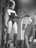 Diana Rigg Actress and Patrick Macnee Actor in the TV Series the Avengers Photographic Print