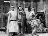 Morcambe and Wise Glenda Jackson Plays Cleopatra in a Sketch with Eric Morecambe and Ernie Wise Photographic Print