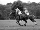 Prince Charles, Windsor Polo. June 1977 Fotografie-Druck