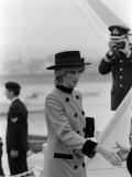 Prince Charles Princess Diana July 1983 Royal Visits Canada Fotografisk tryk