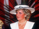 Princess Diana at the Guildhall to Receive Freedom of the City of London July 1987 Photographic Print