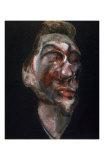 Three Studies of George Dyer Affischer av Francis Bacon