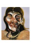 Study of Henrietta Moraes, c.1969 ポスター : フランシス・ベーコン