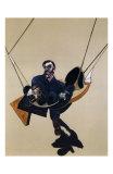 Triptych, c.1970 (detail) Affischer av Francis Bacon