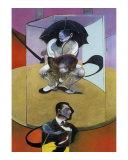 Seated Figure, c.1978 Affischer av Francis Bacon