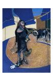 Portrait of Isabel Rawthorne Standing in a Street in Soho, c.1967 Affischer av Francis Bacon