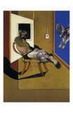 Seated Figure, c.1974 Posters av Francis Bacon