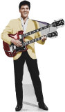 Elvis Yellow Jacket Lifesize Standup Cardboard Cutouts