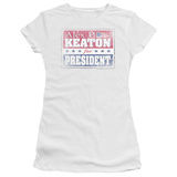 Juniors: Family Ties- Alex For President T-Shirt