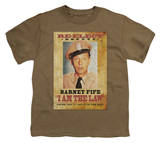 Youth: Andy Griffith - I Am the Law T-Shirt