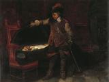 Oliver Cromwell Reproduction procédé giclée par Paul Delaroche