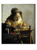 The Lacemaker Giclée-Druck von Johannes Vermeer