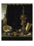 Still-Life With Goblet Reproduction procédé giclée par Pieter Claesz
