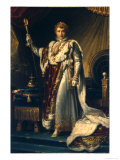 Napoleon I Bonaparte Reproduction procédé giclée par Francois Gerard