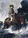 Napoleon Crossing the Alps Lámina giclée por Paul Delaroche