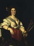 Barbara Strozzi Stampa giclée di Bernardo Strozzi