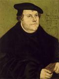 Martin Luther Giclee Print by Lucas Cranach the Elder