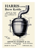 Harris Copper Brew Kettle Posters