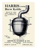Harris Copper Brew Kettle Schilderij