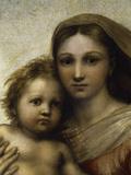 The Sistine Madonna Lámina giclée por  Raphael