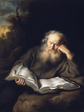 The Hermit Giclee Print by Salomon Koninck