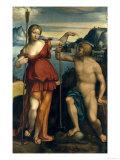 Poseidon and Athena Giclee Print by  Garofalo
