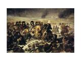 The Battle of Eylau Giclee Print by Antoine-Jean Gros