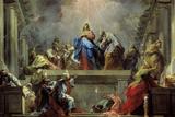 Pentecost Reproduction procédé giclée par Jean Restout
