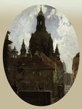Dresden Frauenkirche Giclee Print by Gotthardt Johann Kuehl