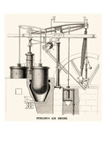 Stirling's Air Engine Pósters