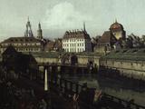 View of Dresden Impressão giclée por  Canaletto