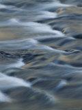 Time Lapse Photograph of Rushing Water Fotografisk trykk av Michael Melford