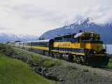 Alaskan Train, Anchorage Photographic Print by Roy Toft