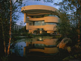 Early Light Glows on the New National Museum of the American Indian Photographic Print by Stephen St. John
