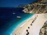 Kaputas Cove and Beach Fotografisk tryk af Izzet Keribar