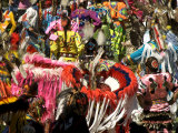 Native Dancers in Traditional Dress, Kamloops Pow Wow Grand Entry Photographic Print by Emily Riddell