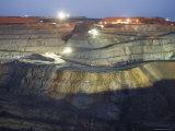 Super Pit Mine Reproduction photographique par Orien Harvey